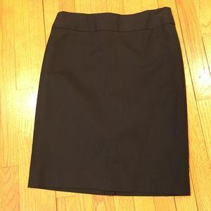 Banana Republic black pencil skirt size 8